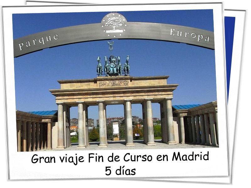 Entrada al parque europa de Madrid