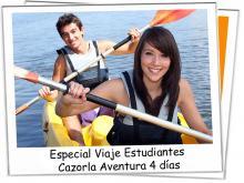 Especial Viaje Estudiantes Cazorla Aventura 4 días