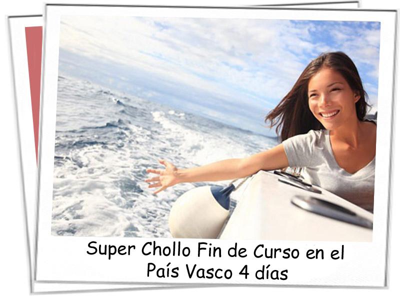 Super Chollo Fin de Curso en el País Vasco 4 días